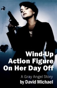"""Wind-Up Action Figure On Her Day Off"""